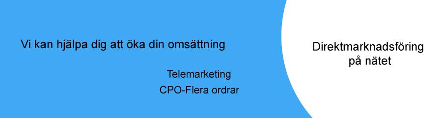 Direktmarknadsföring på nätet